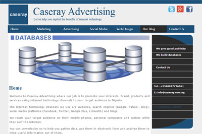 Caseray Website Design Company, Lagos, Nigeria 09